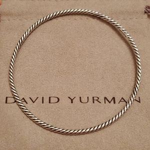 David Yurman Cable Bangle Bracelet